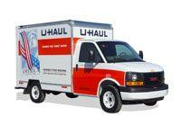 A U-Haul truck