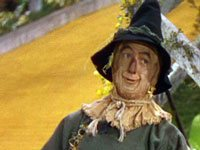The scarecrow from Wizard of Oz