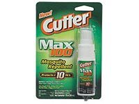 A package of Cutter Max, an insect repellant that contains DEET.