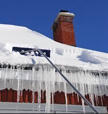 get rid of ice dam roof rake